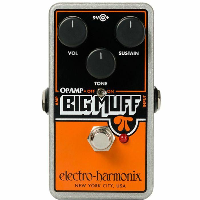 ELECTRO HARMONIX - Electro Harmonix Op Amp Big Muff Pi Distortion Pedal