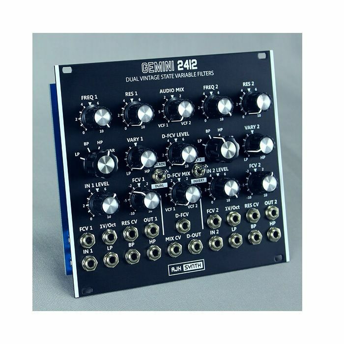 AJH SYNTH - AJH Synth Gemini 2412 Dual SVF Module (black)