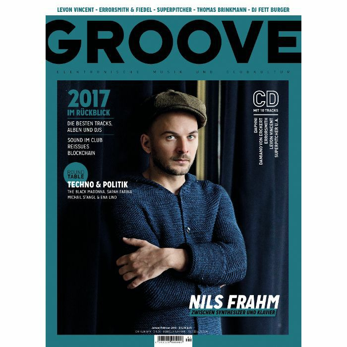 GROOVE MAGAZINE - Groove Magazine: Issue 170  January/February 2018 (with free 10 track compilation CD by Thilo Schneider, German language)