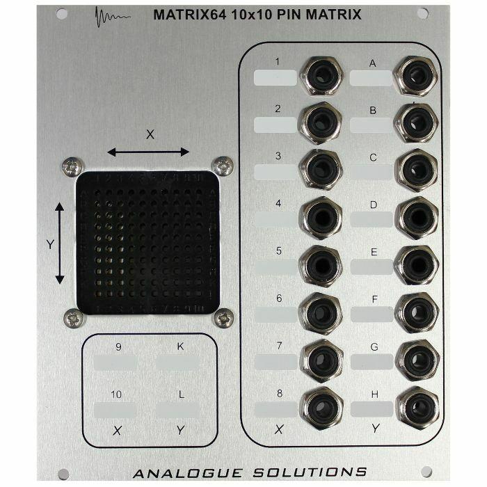 ANALOGUE SOLUTIONS - Analogue Solutions Matrix 64 Pin Matrix Patch Panel Module