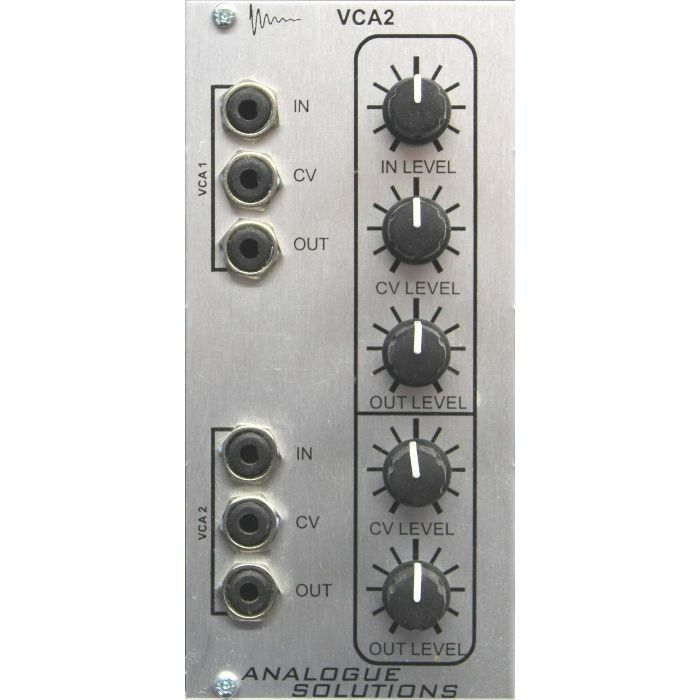 ANALOGUE SOLUTIONS - Analogue Solutions VCA2 Dual Channel VCA Module