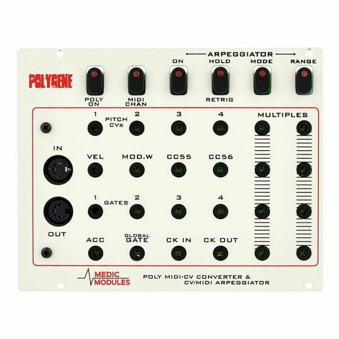 MEDIC MODULES - Medic Modules Polygene Polyphonic MIDI To CV Converter Module