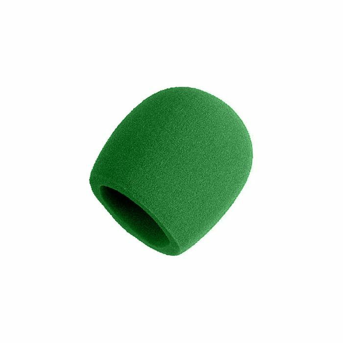 SHURE - Shure A58WS Microphone Windshield For PG48 PG58 SM48 SM58 Beta58A & 565SD (green)