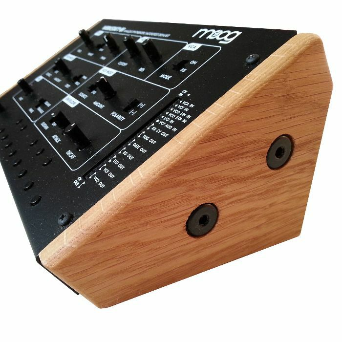 SYNTHS & WOOD - Synths & Wood Solid Oak End Cheeks Stand For Moog Werkstatt 01