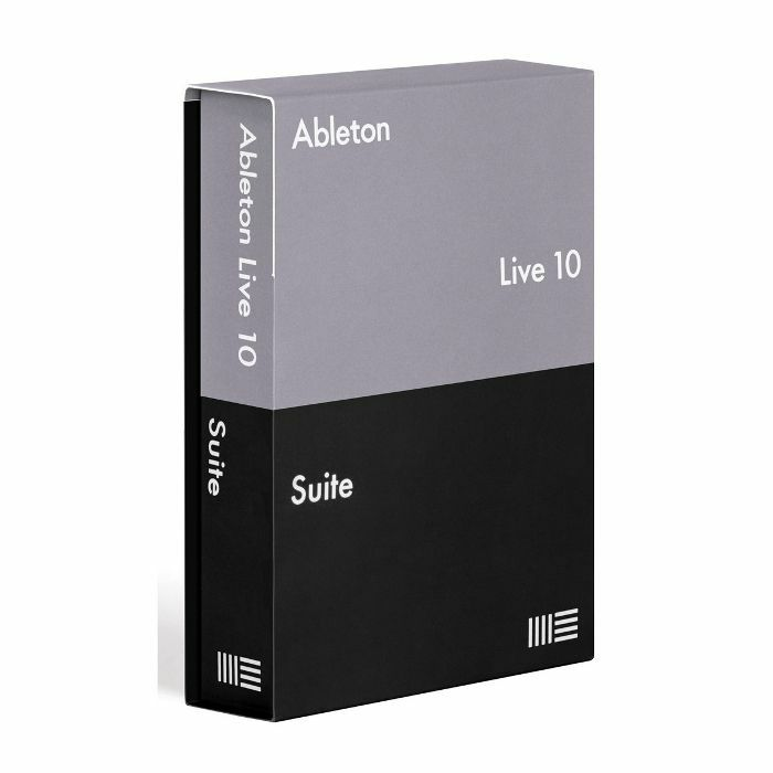 ABLETON - Ableton Live 10 Suite Edition (full boxed version)