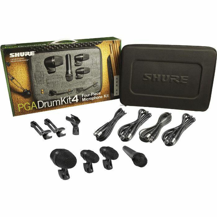 SHURE - Shure PG Alta Drum Microphone Kit 4