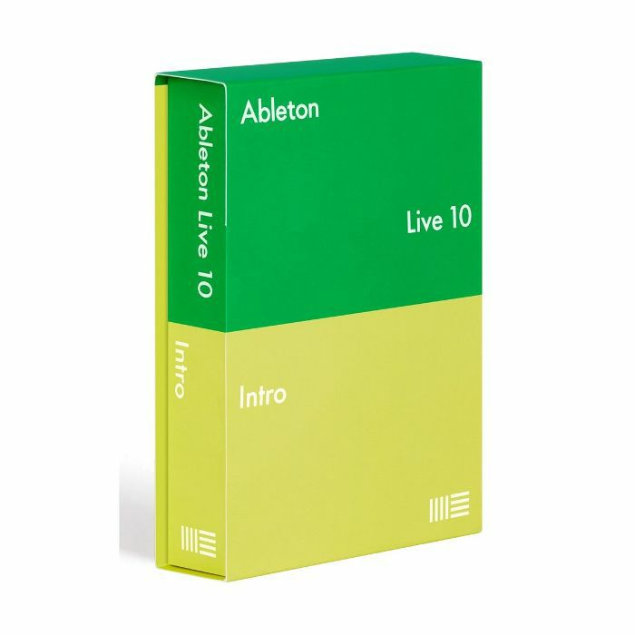 ABLETON - Ableton Live 10 Intro Edition (full boxed version)