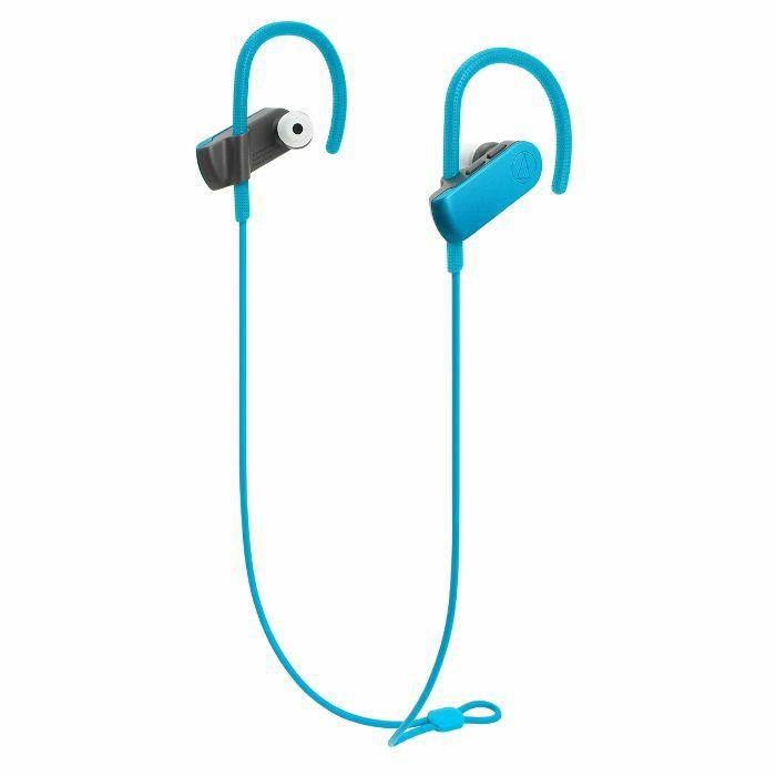 AUDIO TECHNICA - Audio Technica ATH SPORT50BT SonicSport Wireless In Ear Headphones (turquoise blue)