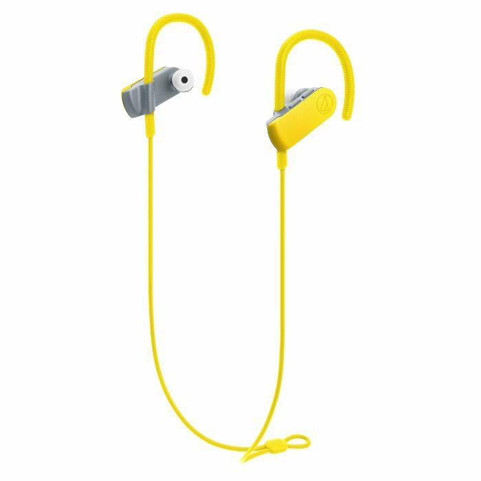 AUDIO TECHNICA - Audio Technica ATH SPORT50BT SonicSport Wireless In Ear Headphones (yellow)