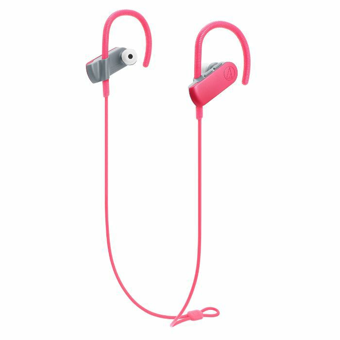 AUDIO TECHNICA - Audio Technica ATH SPORT50BT SonicSport Wireless In Ear Headphones (pink)