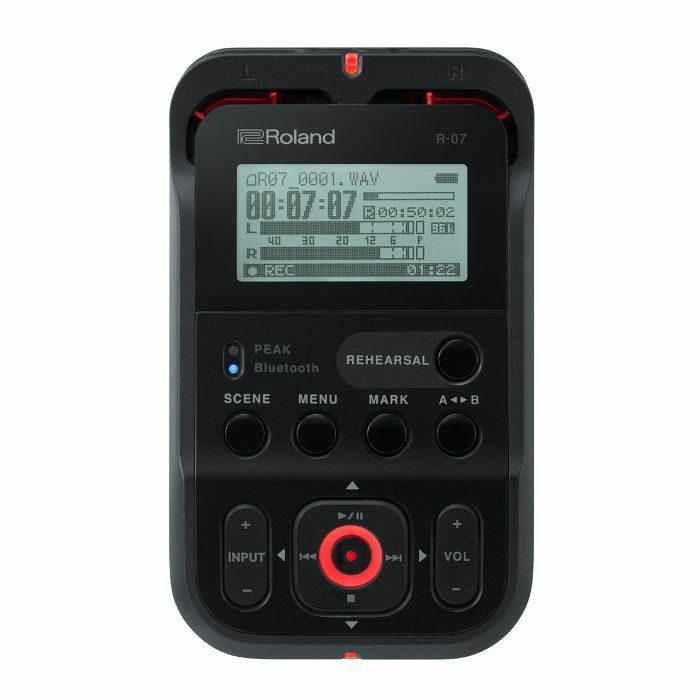 ROLAND - Roland R07 High Resolution Digital Audio Recorder (black)