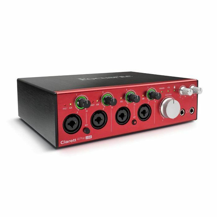FOCUSRITE - Focusrite Clarett 4 Pre USB Audio & MIDI Interface
