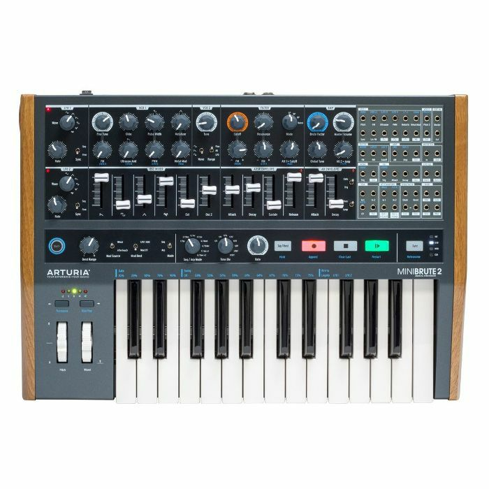 ARTURIA - Arturia MiniBrute 2 Analogue Synthesizer & Sequencer Keyboard