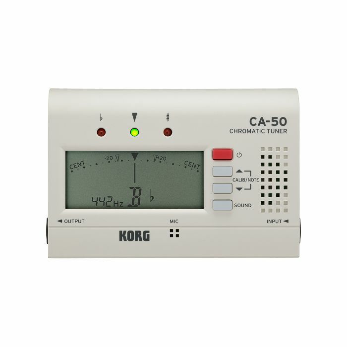 KORG - Korg CA50 Chromatic Tuner (white)