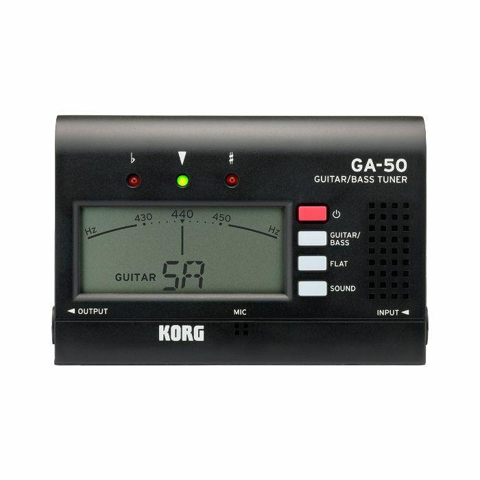 KORG - Korg GA50 Guitar & Bass Tuner (black)