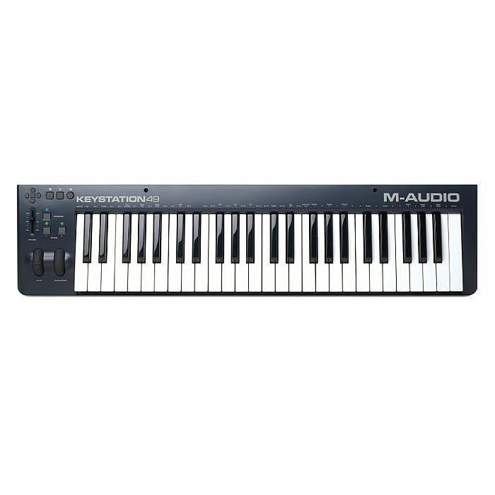 m audio m audio keystation 49 mkii usb midi keyboard controller with ableton live lite software. Black Bedroom Furniture Sets. Home Design Ideas