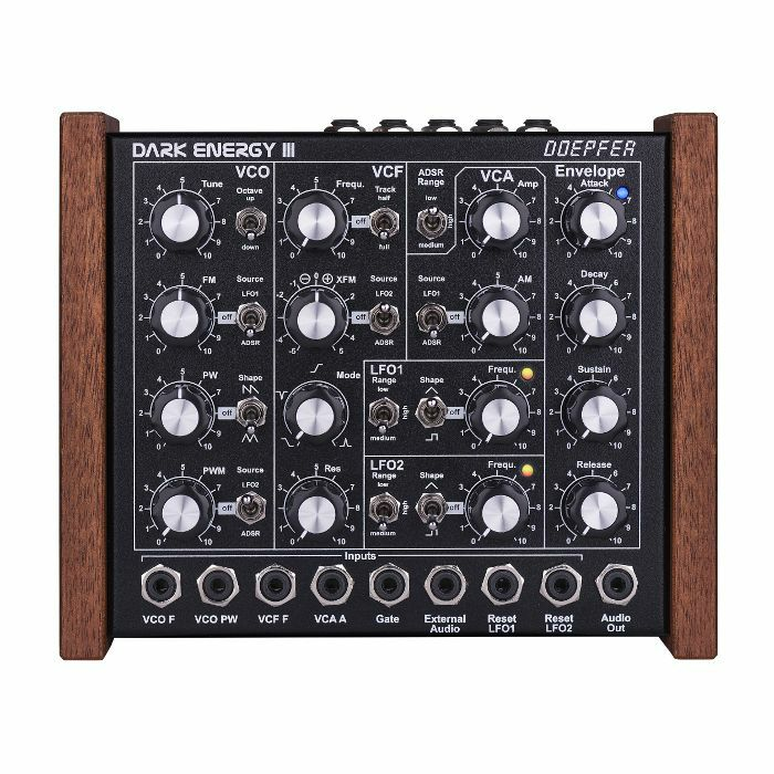 DOEPFER - Doepfer Dark Energy 3 Semi Modular Desktop Monophonic Synthesizer