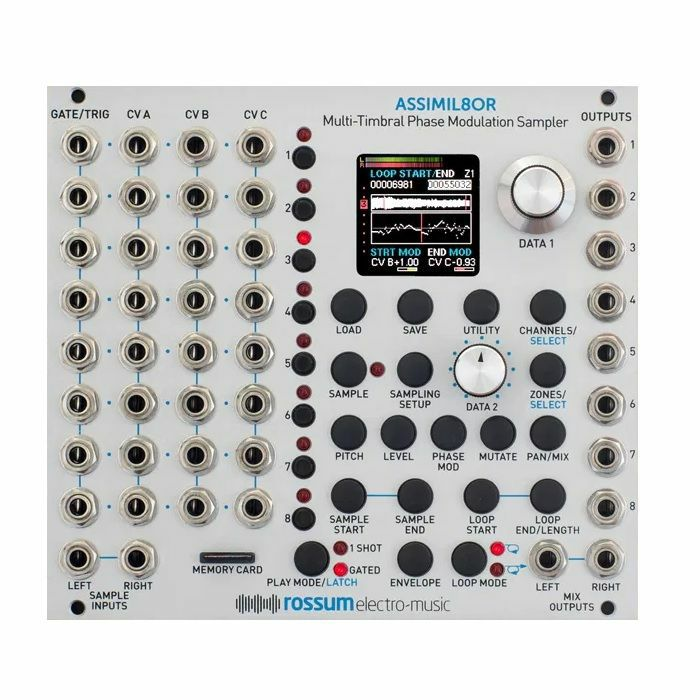 ROSSUM ELECTRO-MUSIC - Rossum Electro-Music Assimil8or Multi Timbral Phase Modulation Sampler Module