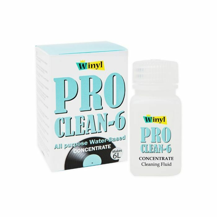 WINYL - Winyl Pro Clean 6 Concentrated Record Cleaning Fluid (makes 6 litres)