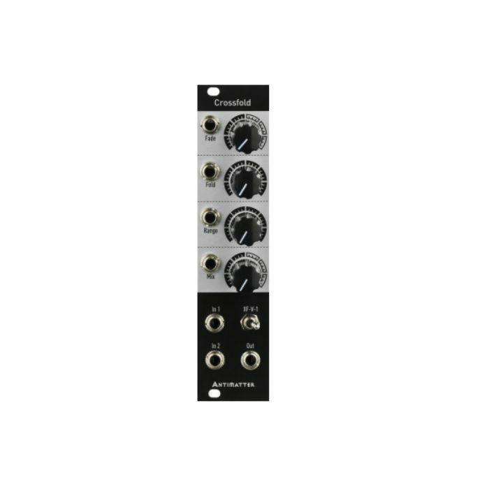 ANTIMATTER AUDIO - Antimatter Audio Crossfold 8 Stage Wavefolder Module