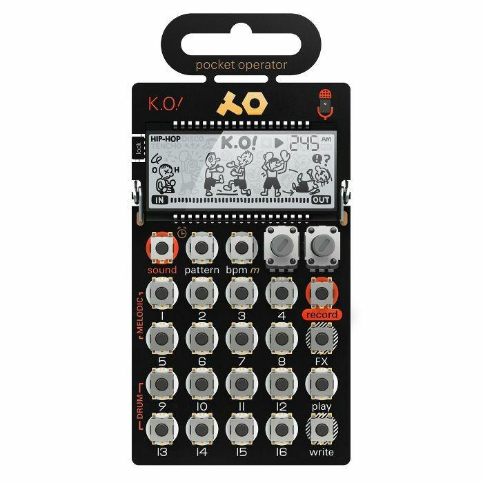 TEENAGE ENGINEERING - Teenage Engineering PO33 K.O Pocket Operator Micro Sampler