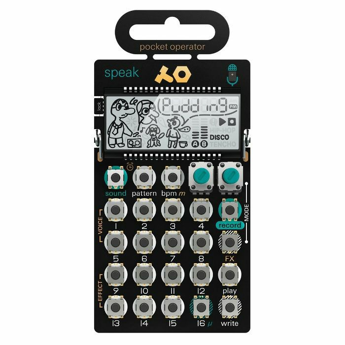 TEENAGE ENGINEERING - Teenage Engineering PO35 Speak Pocket Operator Vocal Synthesizer & Sequencer