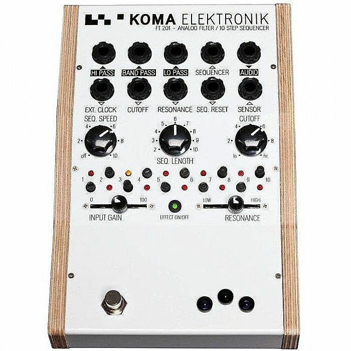 KOMA ELEKTRONIK - Koma Elektronik FT201 Analog Filter & Sequencer (B-STOCK)