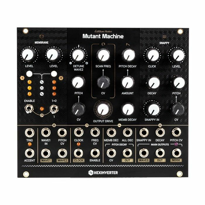 HEXINVERTER - Hexinverter Mutant Machine Dynamic Analog Percussion Synthesis Engine Module (B-STOCK)
