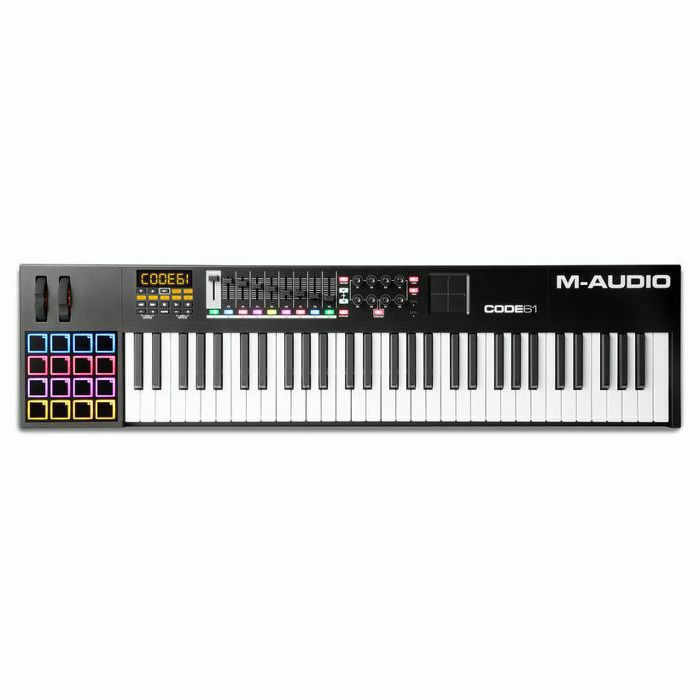 M AUDIO - M Audio Code 61 MIDI Keyboard With Ableton Live Lite Software (black) (B-STOCK)