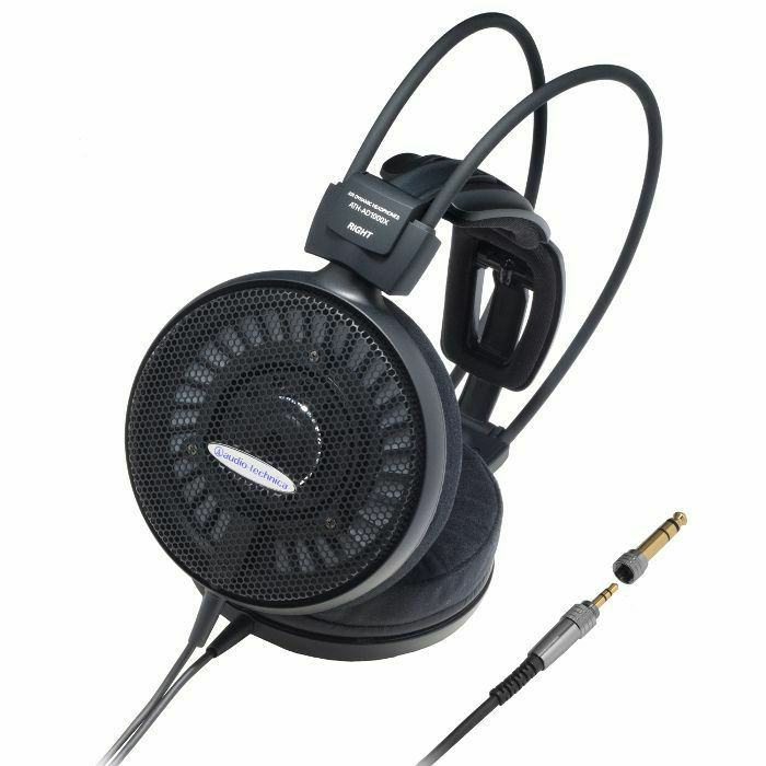 AUDIO TECHNICA - Audio Technica AD1000X High Fidelity Open Backed Audiophile Headphones (B-STOCK)