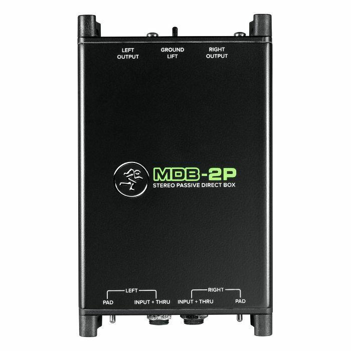 MACKIE - Mackie MDB2P Passive Stereo Direct DI Box