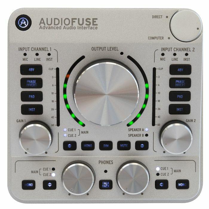 ARTURIA - Arturia AudioFuse Audio Interface (classic silver) (B-STOCK)