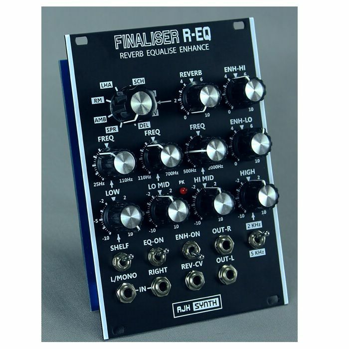 AJH SYNTH - AJH Synth Finaliser REQ Reverb Equalise Enhance Module (black)