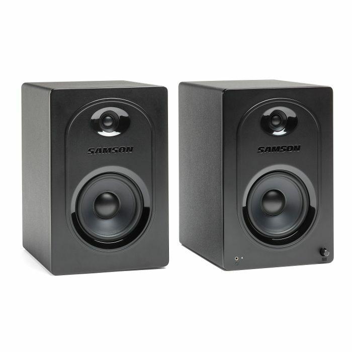 SAMSON - Samson MediaOne M50 Powered Studio Monitors (pair)