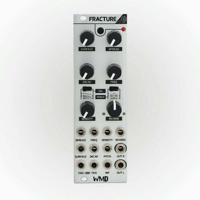 WMD - WMD Fracture Multi Particle Percussion Synthesiser Module (silver faceplate)