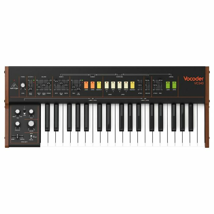 BEHRINGER - Behringer VC340 Analogue Vocoder Synthesiser