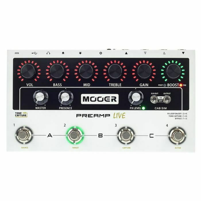 MOOER - Mooer Preamp Live Pedal