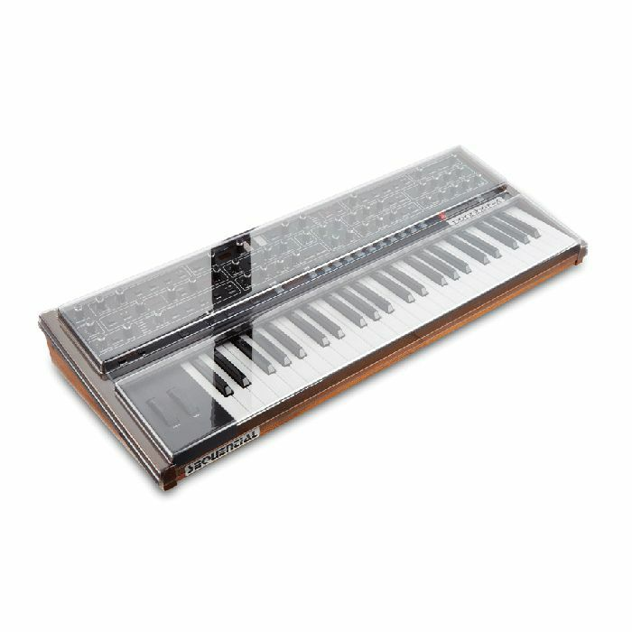 DECKSAVER - Decksaver Dave Smith Instruments Prophet 6 Cover (smoked clear)