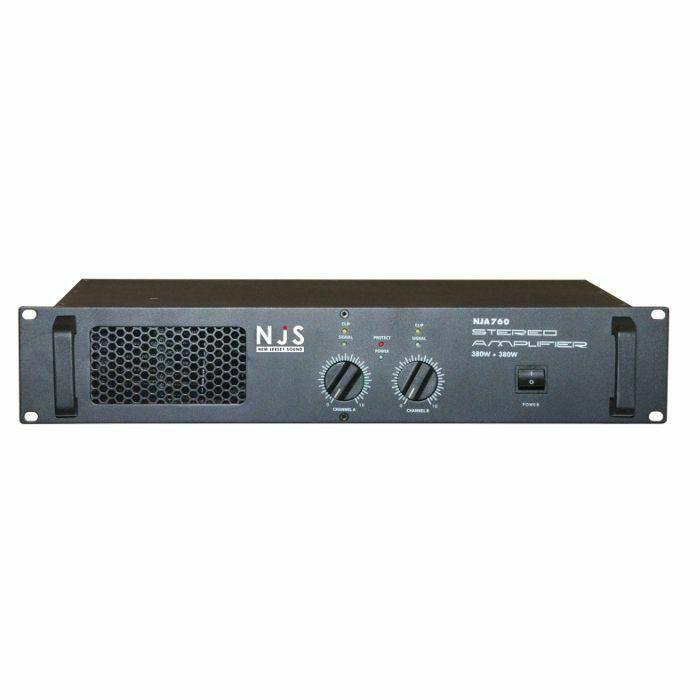 NEW JERSEY SOUND - New Jersey Sound NJA760 Stereo Slave Amplifier (B-STOCK)