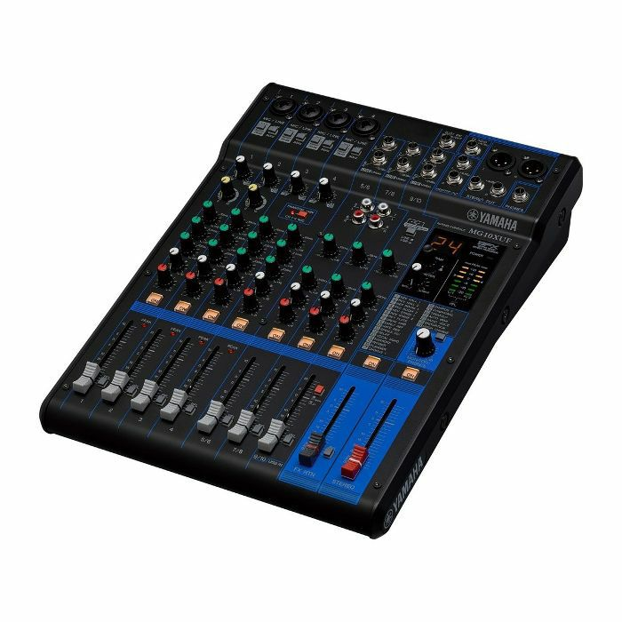YAMAHA - Yamaha MG10XUF 10 Channel Analogue USB Mixer
