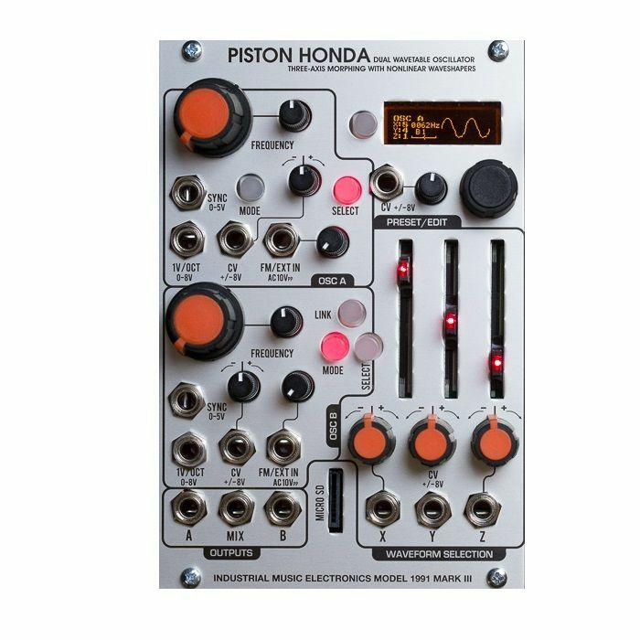 INDUSTRIAL MUSIC ELECTRONICS - Industrial Music Electronics Piston Honda MKIII Dual Wavetable Oscillator