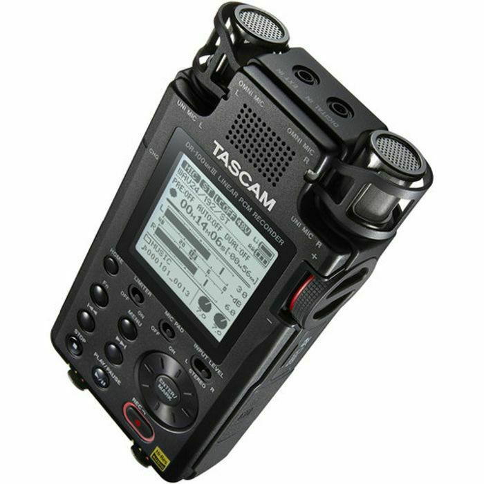TASCAM - Tascam DR 100MkIII Portable Digital Audio Recorder (B-STOCK)