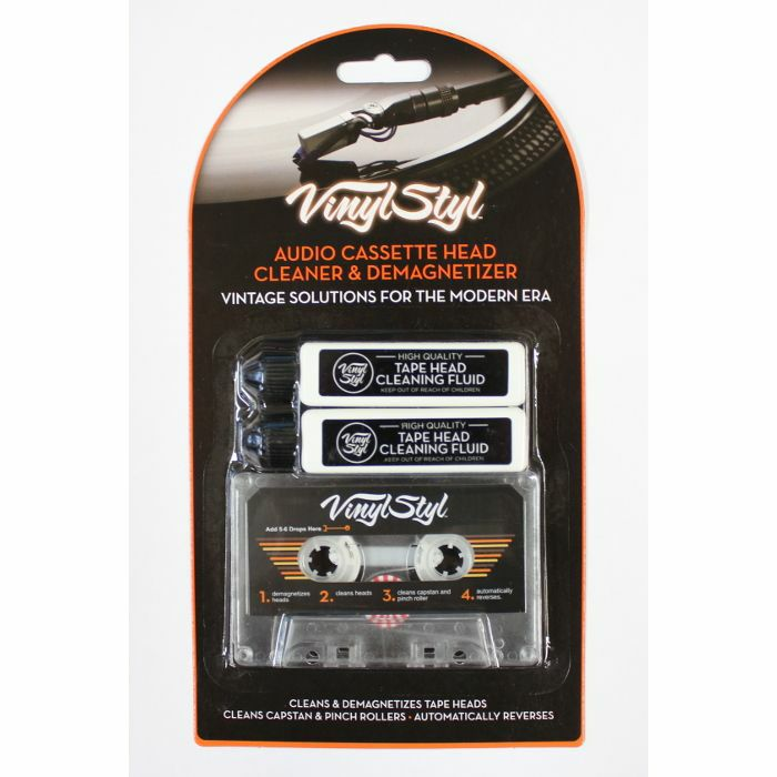 VINYL STYL - Vinyl Styl Audio Tape Cassette Head Cleaner & Demagnetizer