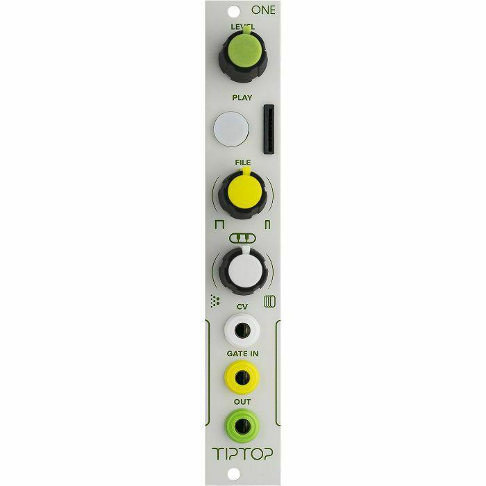 TIPTOP AUDIO - Tiptop Audio One Sample Player Module (B-STOCK)