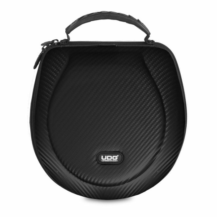 UDG - UDG Creator DJ Headphones Hard Case (black, large, suitable for most current foldable & non-foldable headphones + accessories)
