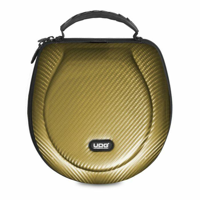 UDG - UDG Creator DJ Headphones Hard Case (gold, large, suitable for most current foldable & non-foldable headphones + accessories)