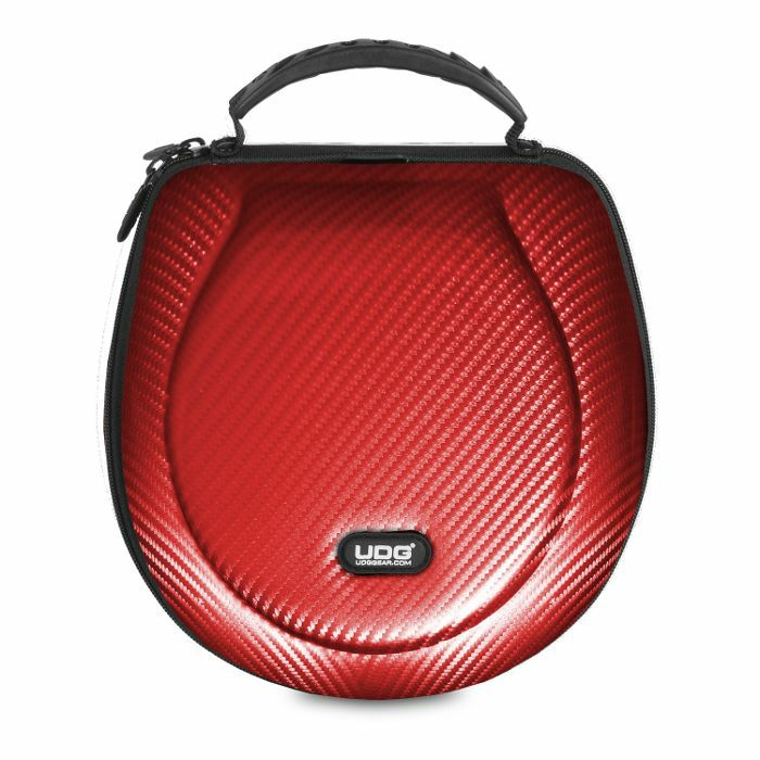 UDG - UDG Creator DJ Headphones Hard Case (red, large, suitable for most current foldable & non-foldable headphones + accessories)