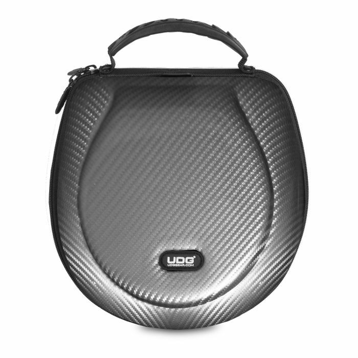 UDG - UDG Creator DJ Headphones Hard Case (silver, large, suitable for most current foldable & non-foldable headphones + accessories)