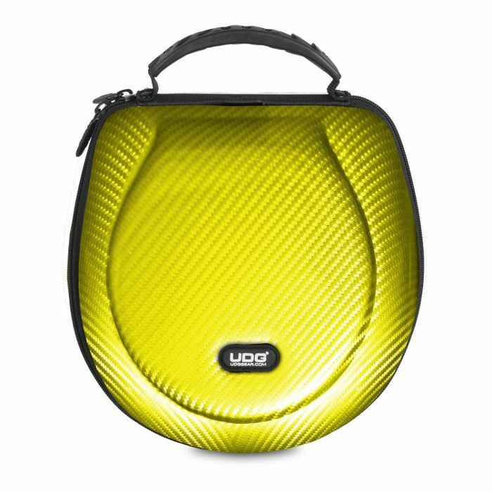 UDG - UDG Creator DJ Headphones Hard Case (yellow, large, suitable for most current foldable & non-foldable headphones + accessories)
