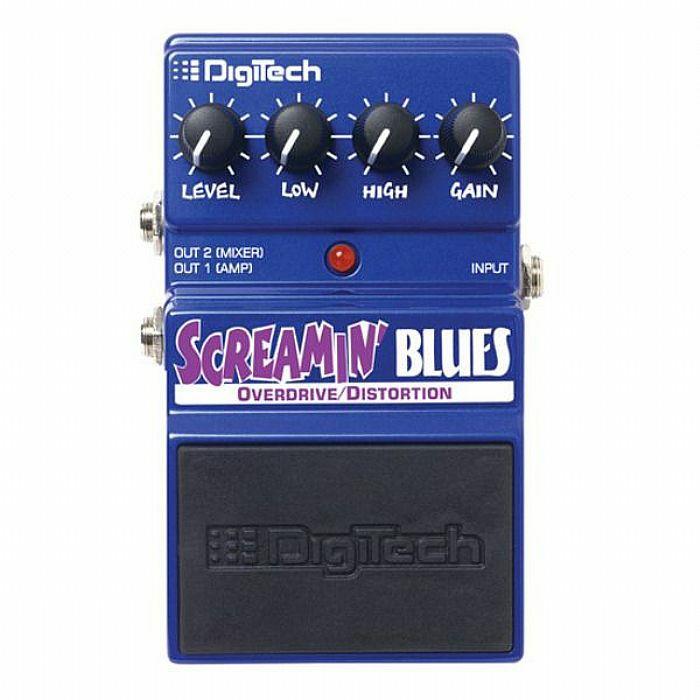DIGITECH - Digitech DSB Screamin Blues Overdrive/Distortion Effects Pedal (B-STOCK)